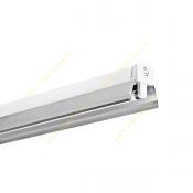 چراغ 18*1 وات فلورسنت روکار سقفی مازی نور مدل M122118BR با رفلکتور آلومینیومی لوکس