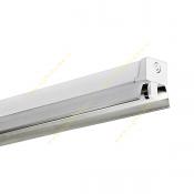 چراغ 28*1 وات فلورسنت سقفی روکار مازی نور مدل M122128AR با رفلکتور سفید و بالاست الکترونیکی
