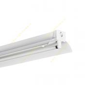 چراغ 54*1 وات فلورسنت سقفی روکار مدل M122154BR مازی نور با رفلکتور آلومینیومی براق لوکس و بالاست الکترونیکی