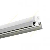 چراغ 54*2 وات فلورسنت سقفی روکار مازی نور مدل M122254BR با رفلکتور آلومینیومی لوکس و بالاست الکترونیکی