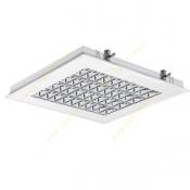 چراغ فلورسنت سقفی 36*4 وات توکار مازی نور مدل M524436DTCL با شبکه آلومینیومی