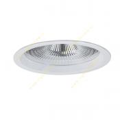 چراغ LED سقفی 26 وات دانلایت مازی نور مدل M589D8LED4830 با رفلکتور آلومینیومی و دهانه 20 سانتی IP43