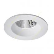 چراغ LED سقفی 10 وات دانلایت مازی نور مدل M589ED3LED3840 با رفلکتور آلومینیومی و دهانه 8 سانتی IP43