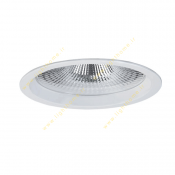 چراغ LED سقفی 19 وات دانلایت مازی نور مدل M589D6LED4840 با رفلکتور آلومینیومی و دهانه 15 سانتی IP43