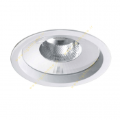 چراغ LED سقفی 26 وات دانلایت مازی نور مدل M589D6LED5830 با رفلکتور آلومینیومی و دهانه 15 سانتی IP43