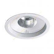 چراغ LED سقفی 13 وات دانلایت مازی نور مدل M589D6LED3840 با رفلکتور آلومینیومی و دهانه 15 سانتی IP43