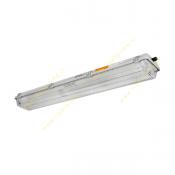چراغ فلورسنت صنعتی 18*2 وات روکار ضد انفجار مازی نور مدل MSEXnD162218EVG با بالاست الکترونیکی