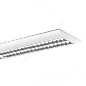 چراغ فلورسنت روکار 54*2 وات مازی نور مدل M625254D