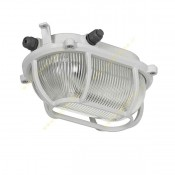چراغ تونلی مازی نور مدل راکی با حفاظ برای لامپ رشته ای