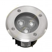 چراغ استخری LED توکار 9 وات مدل FEC-3006 آفتابی