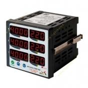 مولتی متر سه فاز 6 نمایشگر مدل MM3-6A برنا الکترونیک
