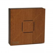 کلید تبدیل لمسی تیک با قاب چوبی گردویی