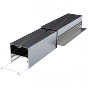 چراغ خطی LED تقاطع تریملس 60 وات سایان الکتریک مدل گلکسی SCX
