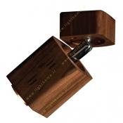 چراغ دکوراتیو چوبی شعاع 5 وات مدل ECO-1302