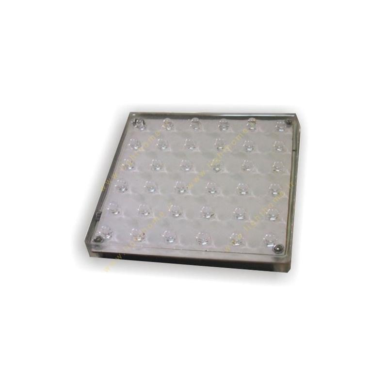 سنگ نورانی عدسی بیرون 10x10 سانت مهتاب نور مدل PL10B