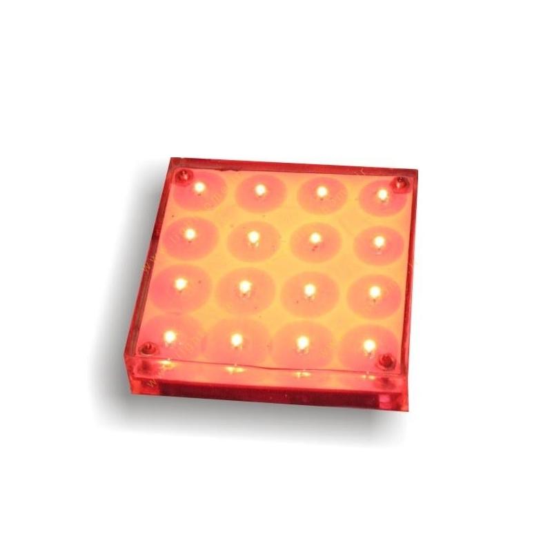 سنگ نورانی عدسی داخل 7x7 سانت مهتاب نور مدل PL7D