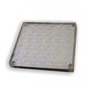 سنگ نورانی عدسی دلخل 10x10 سانت مهتاب نور مدل PL10D