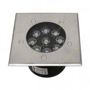 چراغ دفنی مربع LED مدلFEC-8×1W