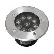 چراغ دفنی گرد LED مدل FEC-8×1W
