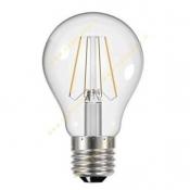 لامپ LED فیلامنتی حبابدار 6 وات افق