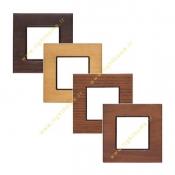 کلید و پریز شایلین مدل نیروانا با قاب چوبی