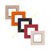 کلید و پریز شایلیلن مدل نیروانا 3 با قاب سنگ یا کورین