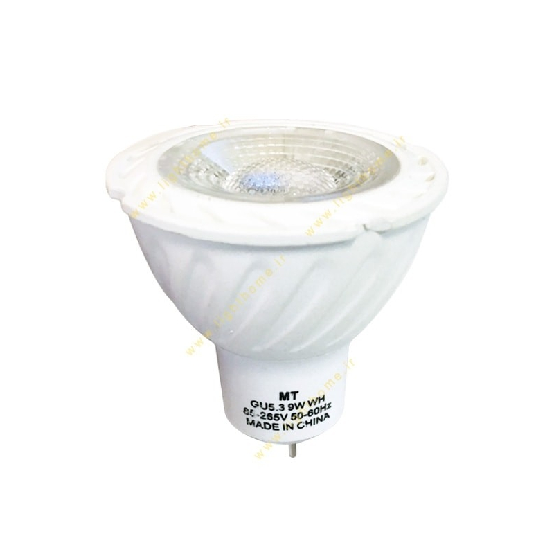 لامپ هالوژن ال ای دی 9 وات MT سرپیچ MR16