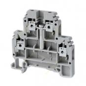 ترمینال دو طبقه پیچی خاص سایز 4 رعد سری DRTP2.5/4D4