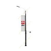 پایه چراغ پارکی خیابانی پرچمدار 10 متری هما  ST-54190