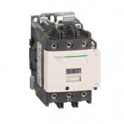 کنتاکتور اشنایدر 3 فاز 50 آمپر 22 کیلووات (1 باز 1 بسته) بوبین 24 ولت AC کد LC1D50B7