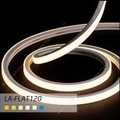 ریسه 8 وات نئون فلکسی فلت لوپ لایت مدل LA-FLAT120
