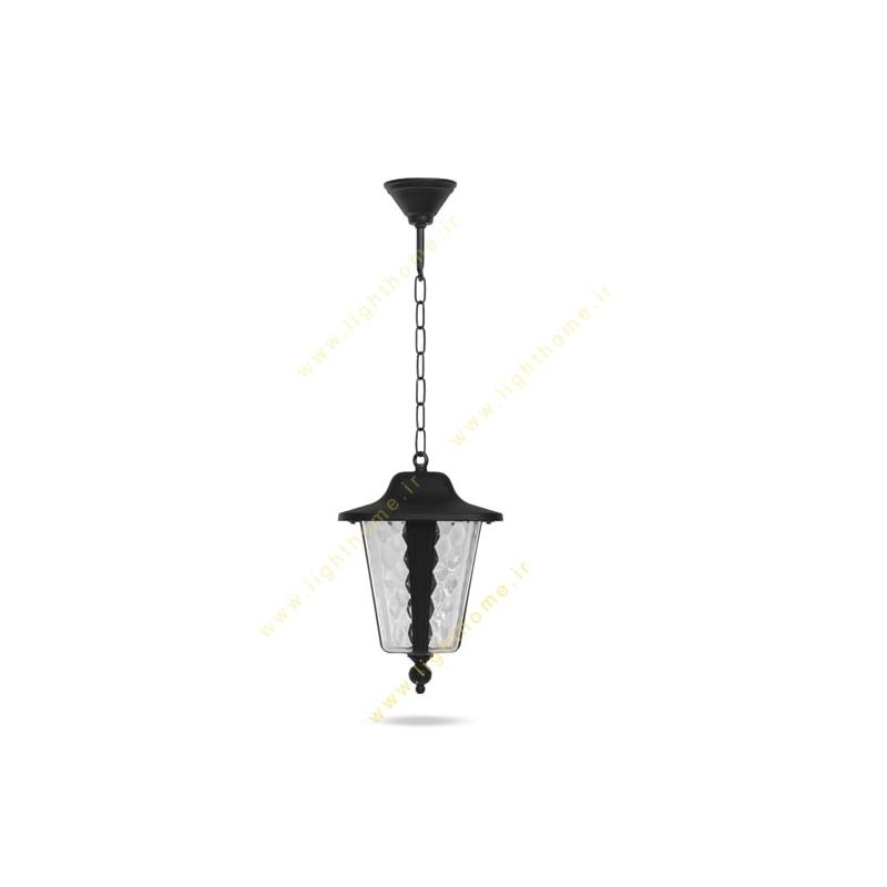 چراغ آویز حیاطی E27 شب تاب مدل اطلس SH-110969202