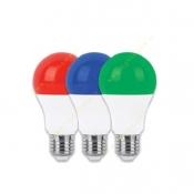 لامپ حبابی 9 وات SMD سرپیچ E27 رنگی پارس شوان