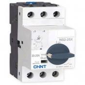 کلید حرارتی با دسته گردان 1 تا 1.6 آمپر چینت مدل NS2-25X