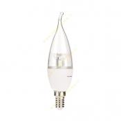 لامپ اشکی ال ای دی 6 وات شفاف سهند