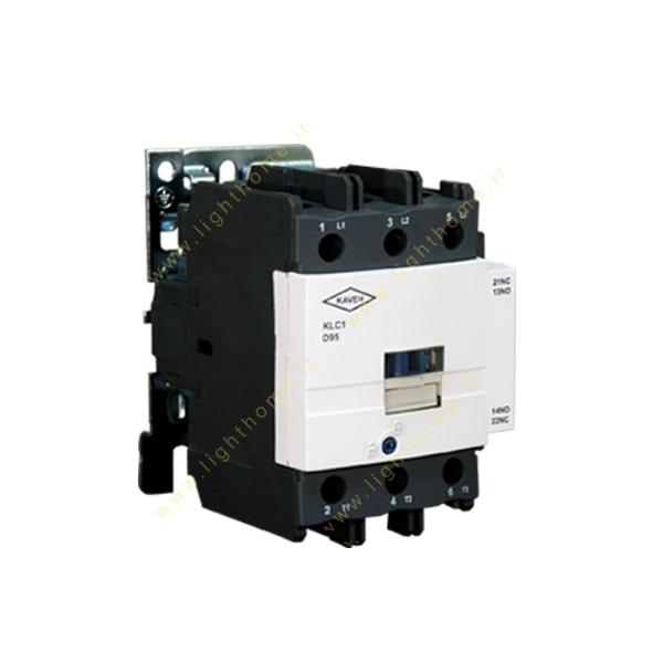 کنتاکتور 80 آمپر کاوه مدل D80_11 جریان 115A