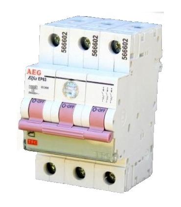 کلید مینیاتوری AEG تیپ EP61