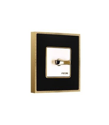 کلید و پریز فده - مدل فلزی طلایی - زمانی
