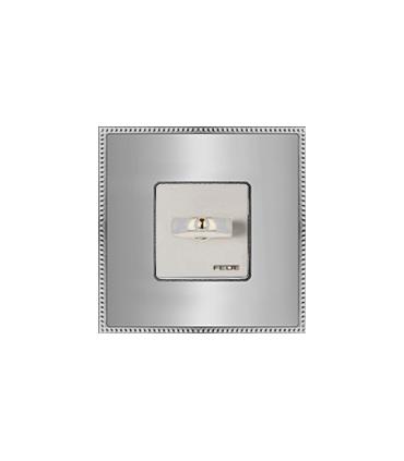کلید و پریز فده - مدل فلزی کروم - زمانی