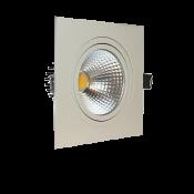 چراغ COB مربع توکار فاین مدل FEC-12W