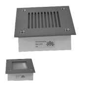چراغ دفنی مربع شبکه ای مدل ZY-3018-G9