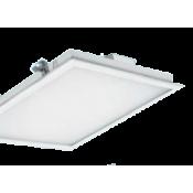 چراغ LED توکار مازی نور مدل الگانت با صفحه AC1 یکپارچه