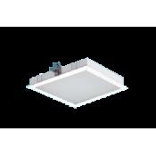 چراغ LED توکار مازی نور مدل الگانت 32×32 با صفحه اکریلیک
