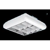 چراغ فلورسنتی روکار ژوپیتر مازی نور مدل تیغه ای براق – برای لامپ های کامپکت