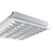 چراغ فلورسنتی توکار مازی نور مدل ژوپیتر با شبکه دابل اپتیک براق – مناسب سقف سازه پنهان