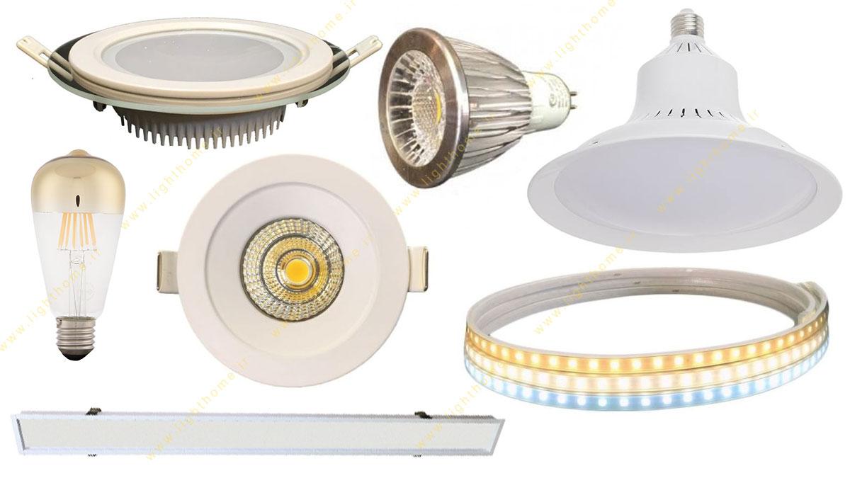 محصولات روشنایی 4m