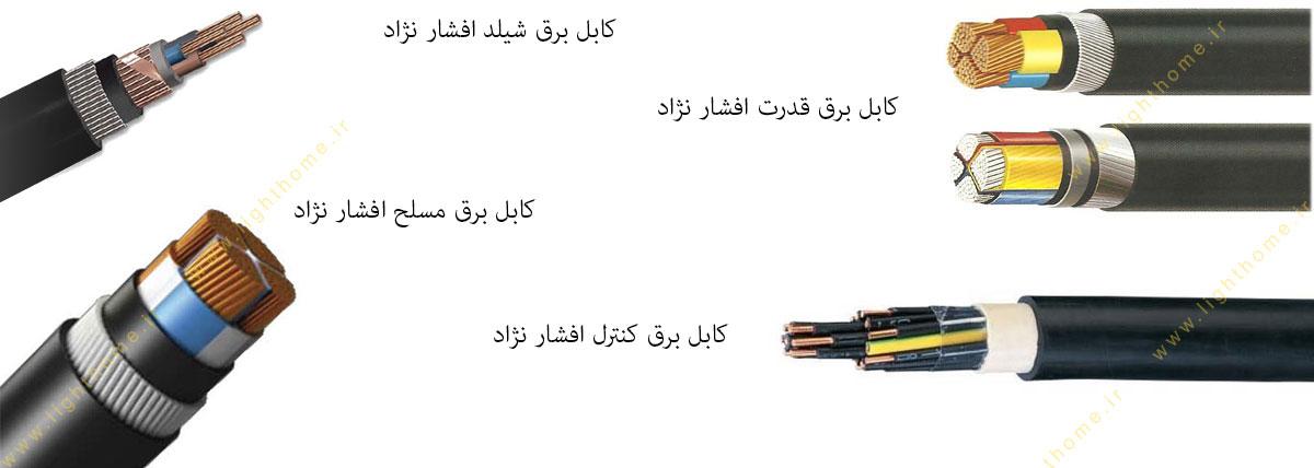 انواع کابل افشار نژاد خراسان
