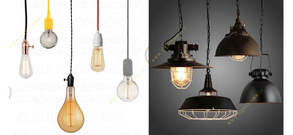 محصولات روشنایی بالب لندن