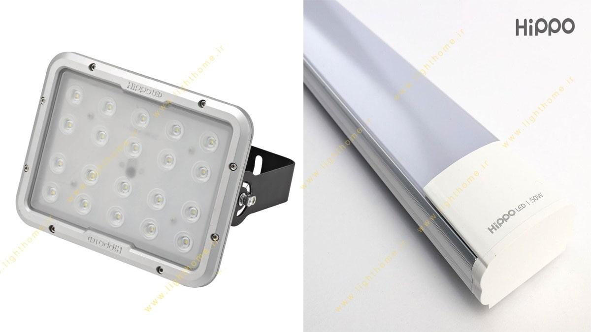 محصولات روشنایی ال ای دی هیپو