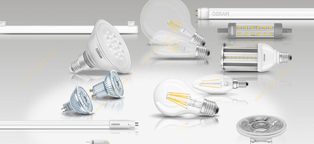 انواع لامپ اسرام